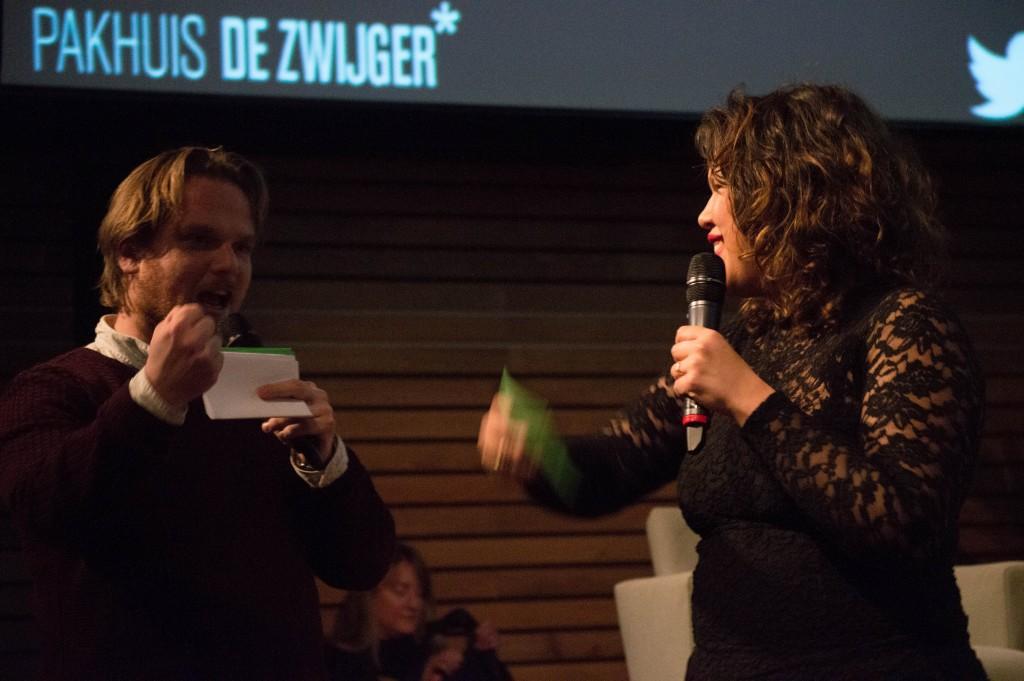 Presentator Willem Bosch