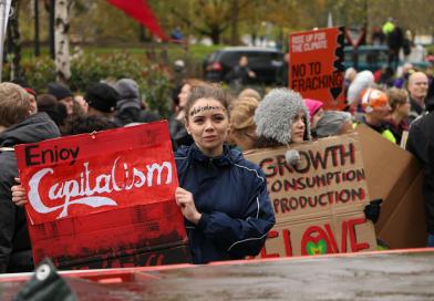 Klassenstrijd voor het klimaat: kapitalisme is schuldig