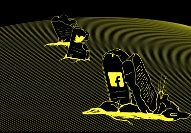 Rouwen op Facebook