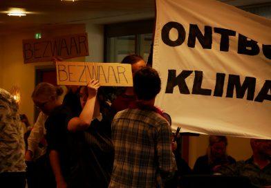 In beeld: Diemen protesteert tegen biomassacentrale